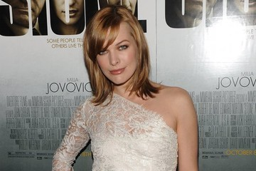 Milla Jovovich Debuts a Lighter 'Do and a New Flick