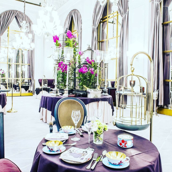 Marchal at Hotel D'Angleterre