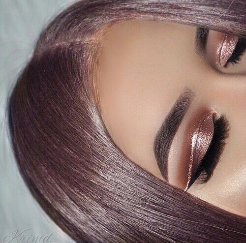 Out of This World Metallic Makeup Looks