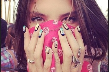 Can You Guess The Famous Face Who Sported These Coachella Nails?