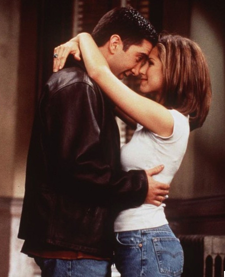 Ross and Rachel from 'Friends'
