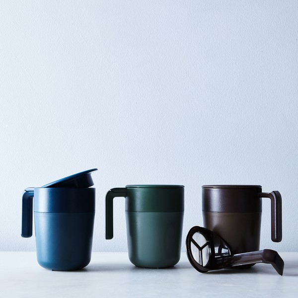 To-Go French Press Mugs