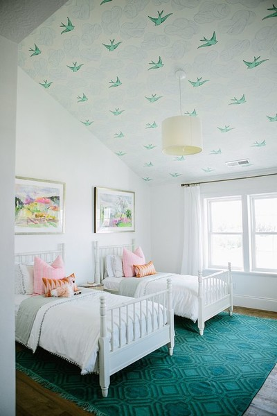 Bird Ceiling These Wallpaper Ideas Are Unique And Stunning
