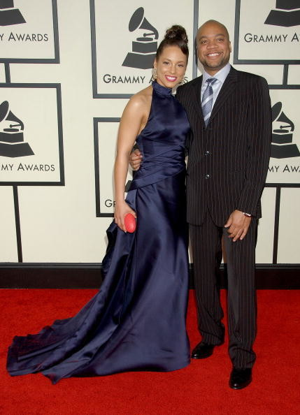 Alicia Keys And Kerry Brothers Jr 2008 Famous Grammy