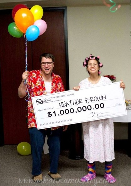 Publishers Clearing House & Granny Winner - Couples Halloween