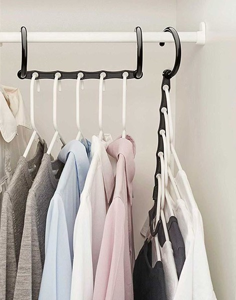 Closet Organization Tip #2: Make The Most Out Of Your Hangers