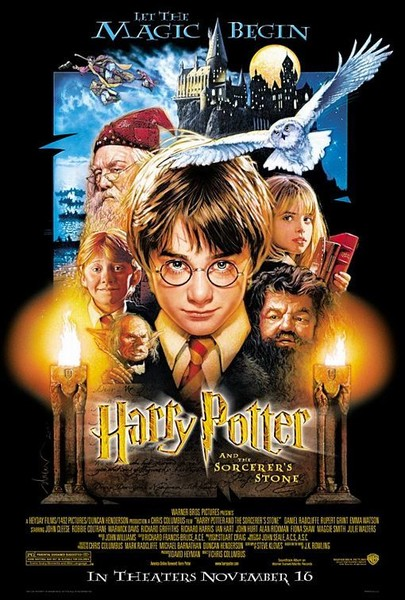 Harry Potter and the Sorcerer's Stone (2001, PG)