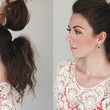 Double Stacked Ponytail