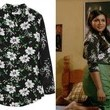 Mindy Kaling's Floral Print Button-Down on 'The Mindy Project'