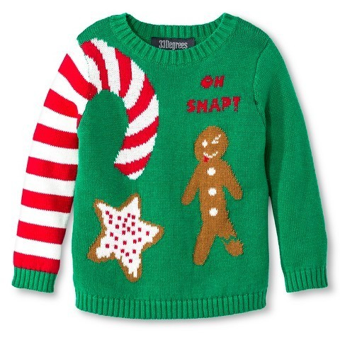 Oh Snap! Gingerbread Man Pullover Sweater