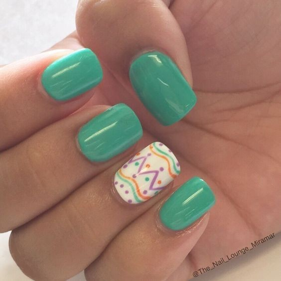 Decorated Green - These Pretty Pastel Nails Are Perfect For Spring ...