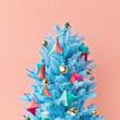 Opt For A Neon Christmas Tree