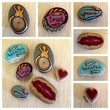 Ask guests to paint stones