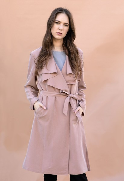 Kimia's Pick: Kestan's Davis Jacket In Blush