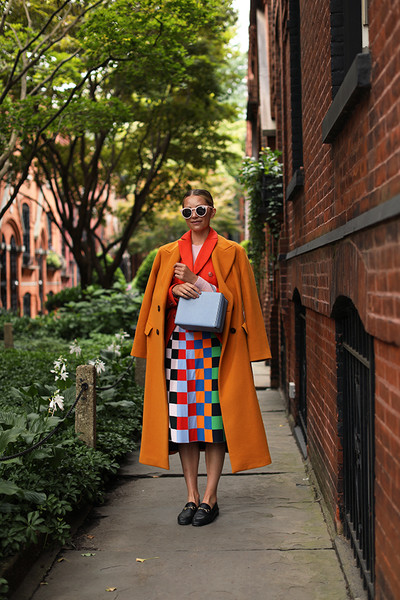 Colorful Checkered Print