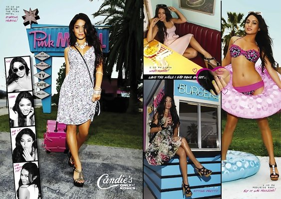 High School Fashion Help from Vanessa Hudgens for Candie's