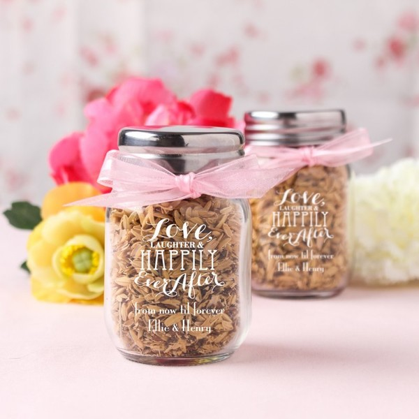 Mini Mason Jars Impress Your Guests With These Wedding Favors