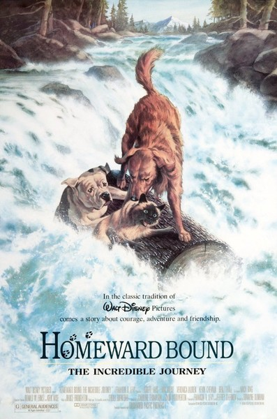 Homeward Bound the Incredible Journey (1993, G)