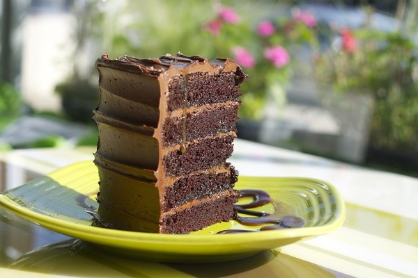 VIRGINIA: Salted Caramel Chocolate Cake at Shyndigz in Richmond