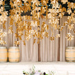 Gold Hanging Leaves