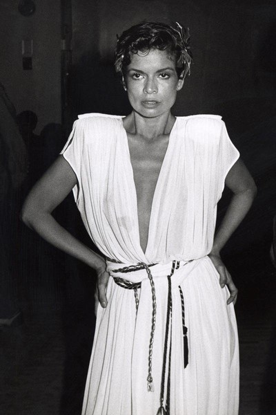 Bianca Jagger's Grecian Gown
