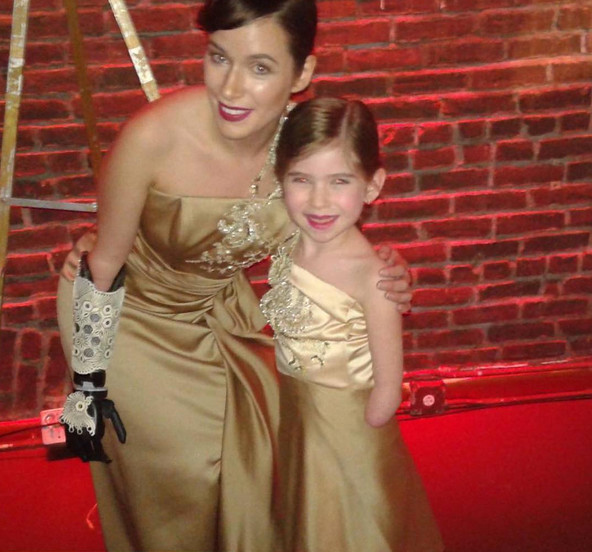 See Stunning Photos of the NYFW Model with a Bionic Arm and Her 6-Year-Old 'Mini Me'