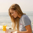 Lauren Conrad's Braided Bangs & Beachy Waves