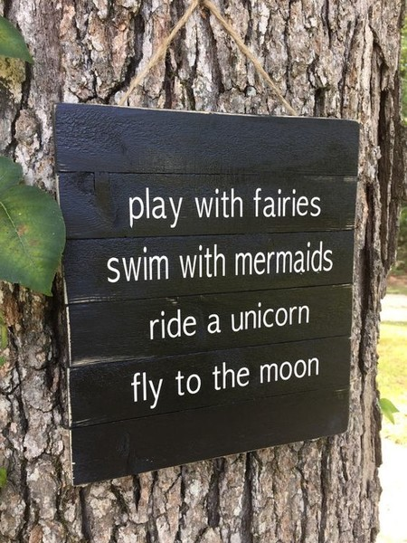 Sweet Rustic Sign Sweet And Whimsical Miniature Fairy Garden