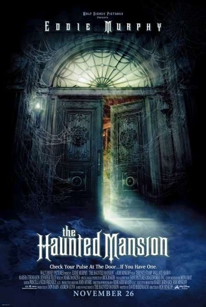 The Haunted Mansion (2003, PG)