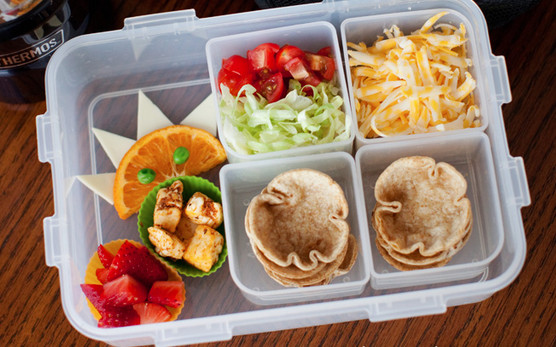 Healthy & Fun Ideas For a Month of School Lunches