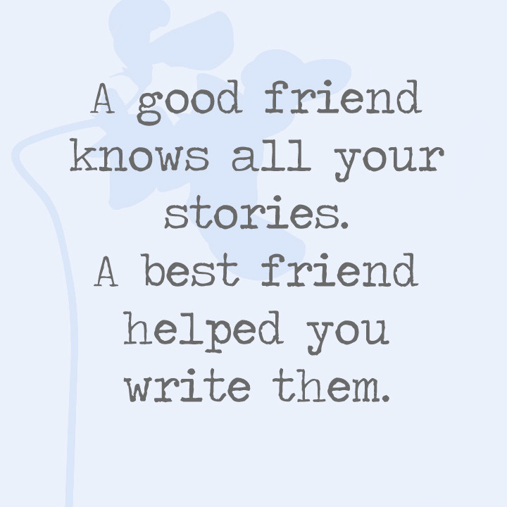 Write about friendship