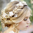 Flower Laced Braided Crown