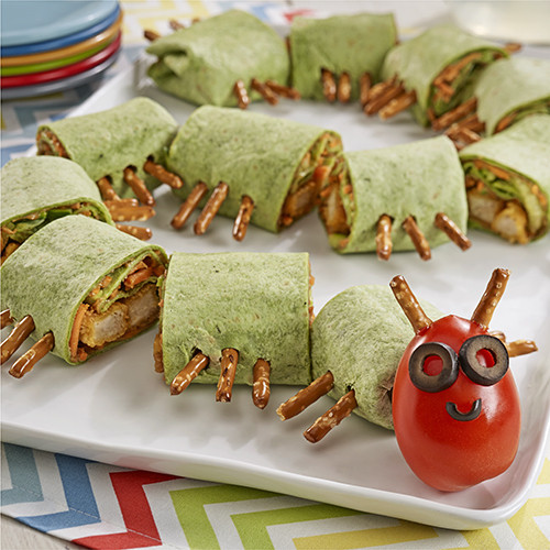 Kid Friendly Wrap Sandwiches