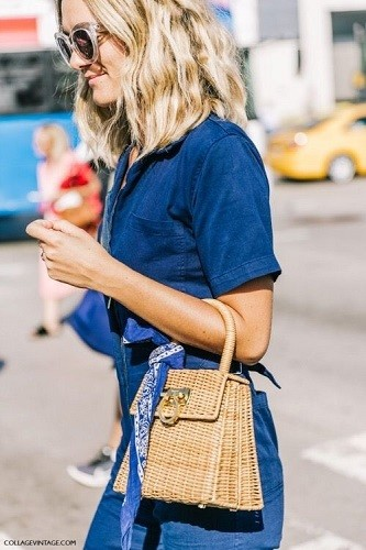 The Cutest Straw Bags on Pinterest