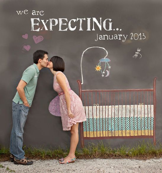 Adorable Pregnancy Announcements