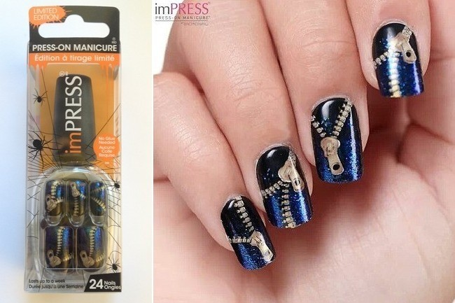 how to put pictures on nails