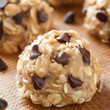 No Bake Peanut Butter Chocolate Chip Cookies