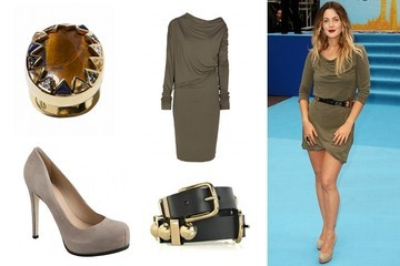 Shop This: Drew Barrymore's Red Carpet Look