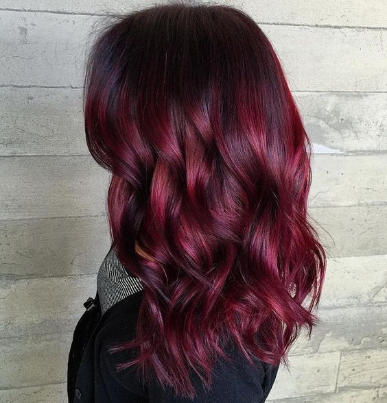 Dark Purple Red