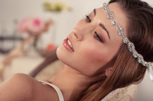 Grecian Jeweled Head Wrap - Wedding Hair Inspiration for Brides Who ... 380776a0c22