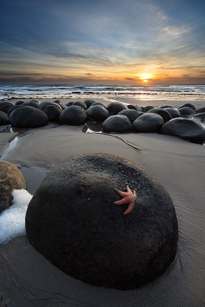 Bowling Ball Beach, Mendocino, California