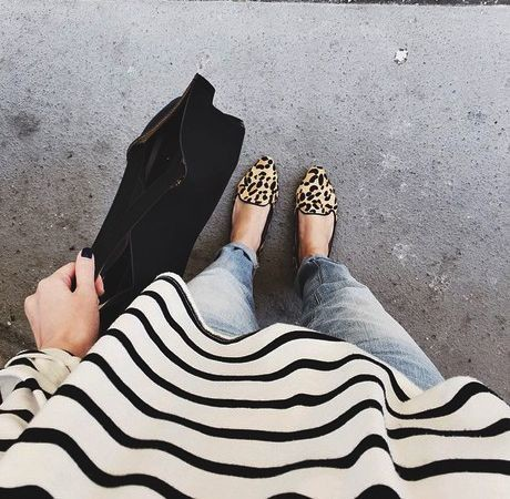 Loafers + Stripes