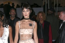 Look of the Day: Bella Hadid's Sheer Style