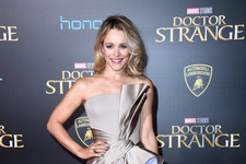 Look of the Day: Rachel McAdams' Silver Number