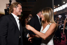 The Best Celebrity Reaction Over Those SAG Awards Photos Of Brad Pitt And Jennifer Aniston