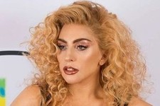 Lady Gaga Debuts Copper Blonde Curls