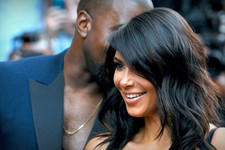 Stylish Celebrity Couple: Kim and Kanye