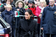 Meghan's Chic Coat
