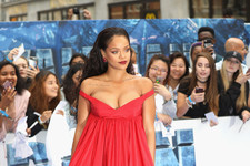 Look of the Day: Rihanna's Stunning Scarlet