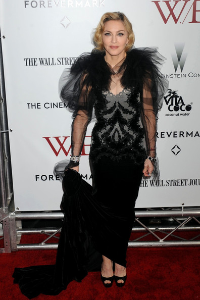 In A Tulle Marchesa Number At The 'W.E.' NYC Premiere In 2012